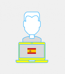 Web content in Spanish by Iman Chatt