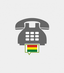 Bolivia toll-free number
