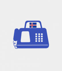 Iceland fax number